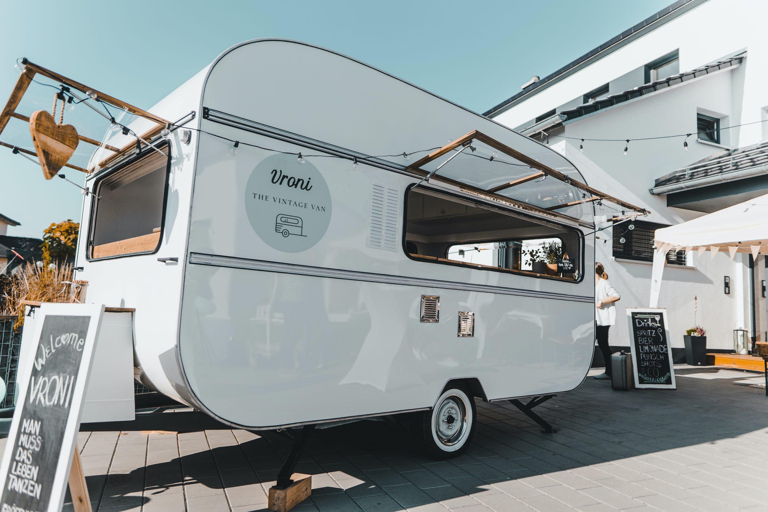 Unsere mobile Caravan Bar - aus Bamberg